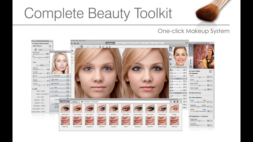 FaceFilter Pro for Mac - review, screenshots