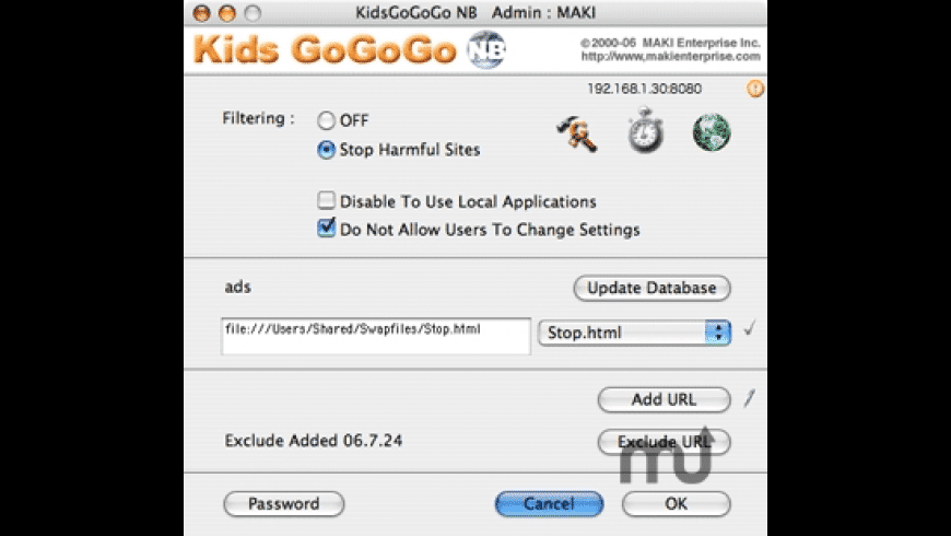 KidsGoGoGo NB for Mac - review, screenshots