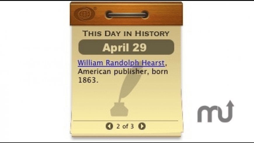 This Day in History for Mac - review, screenshots