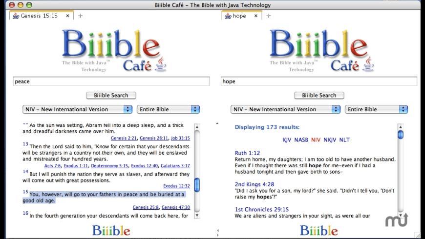 Biiible Cafe for Mac - review, screenshots