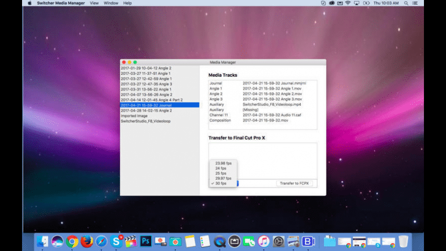 Switcher Media Manager for Mac - review, screenshots
