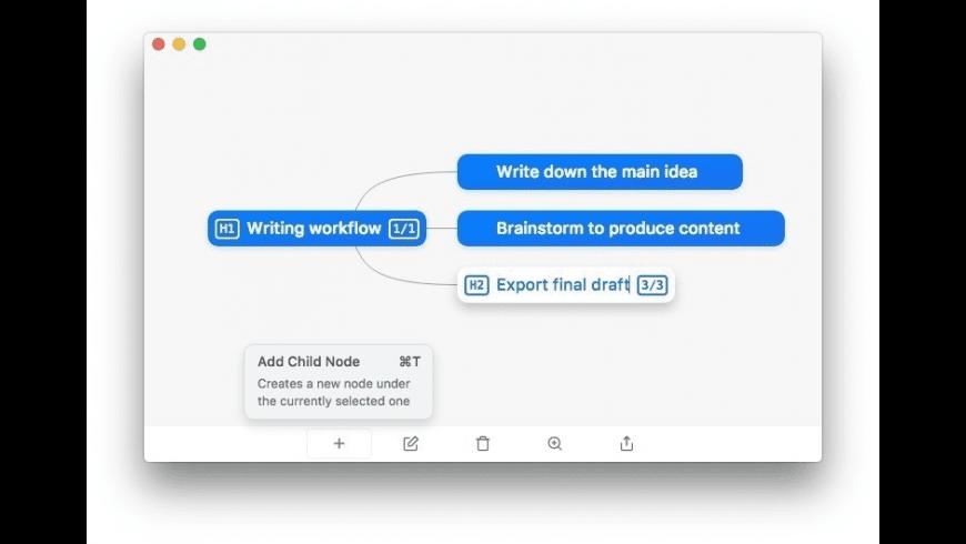 WriteMapper for Mac - review, screenshots