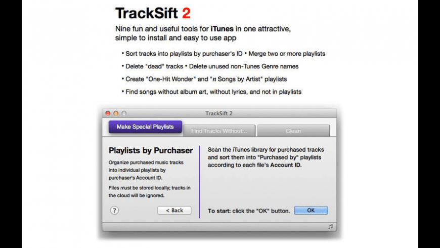 TrackSift 2 for Mac - review, screenshots