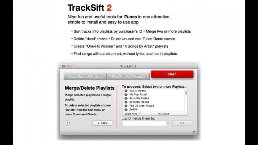 TrackSift 2 for Mac - review, screenshots