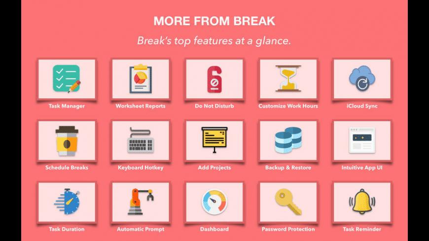 Break for Mac - review, screenshots