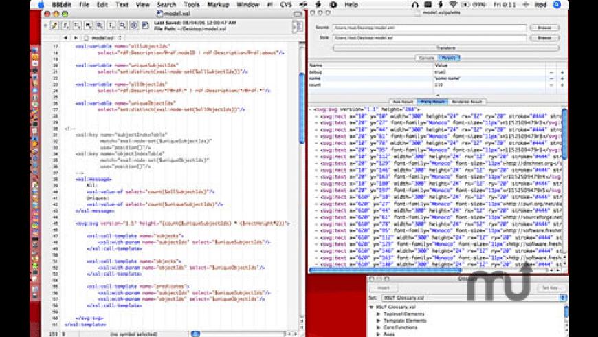 XSLPalette for Mac - review, screenshots