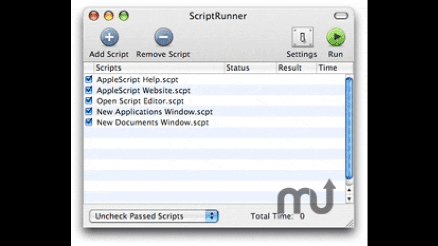 ScriptRunner for Mac - review, screenshots