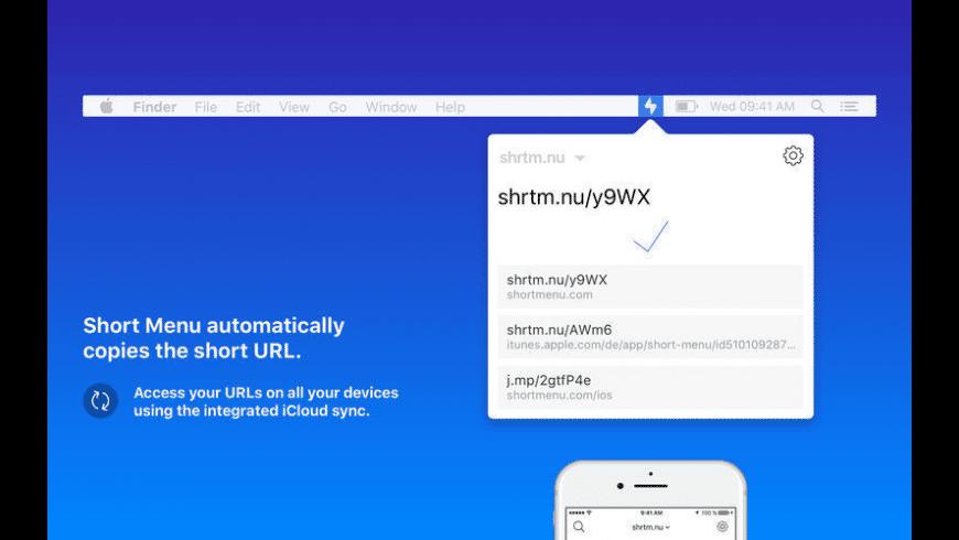 Short Menu for Mac - review, screenshots