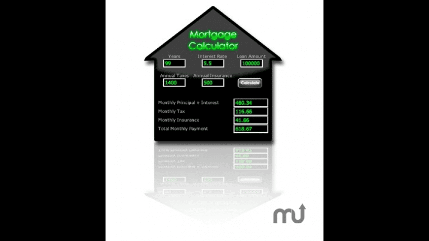 Mortgage Calculator for Mac - review, screenshots