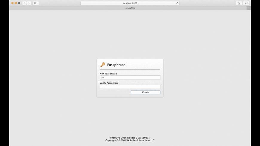 xProDDNS for Mac - review, screenshots
