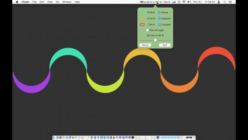 Battery Tracker for Mac - review, screenshots