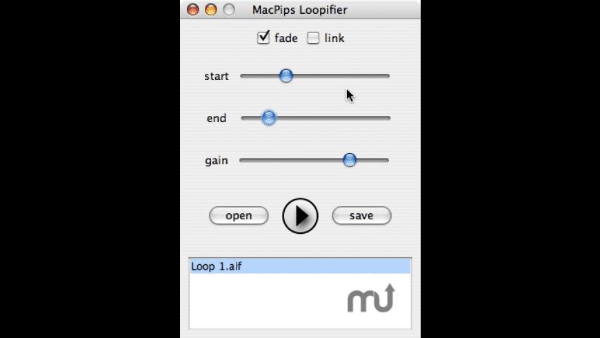 MacPips Loopifier for Garageband for Mac - review, screenshots