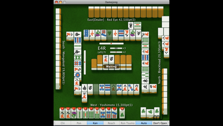 Damejong for Mac - review, screenshots