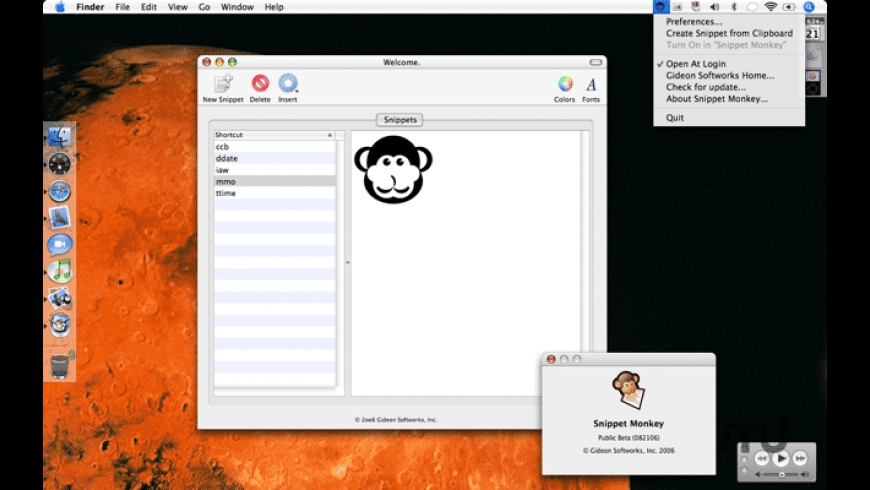 Snippet Monkey for Mac - review, screenshots