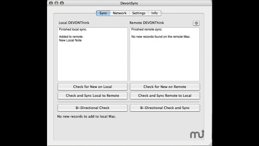 DevonSync for Mac - review, screenshots