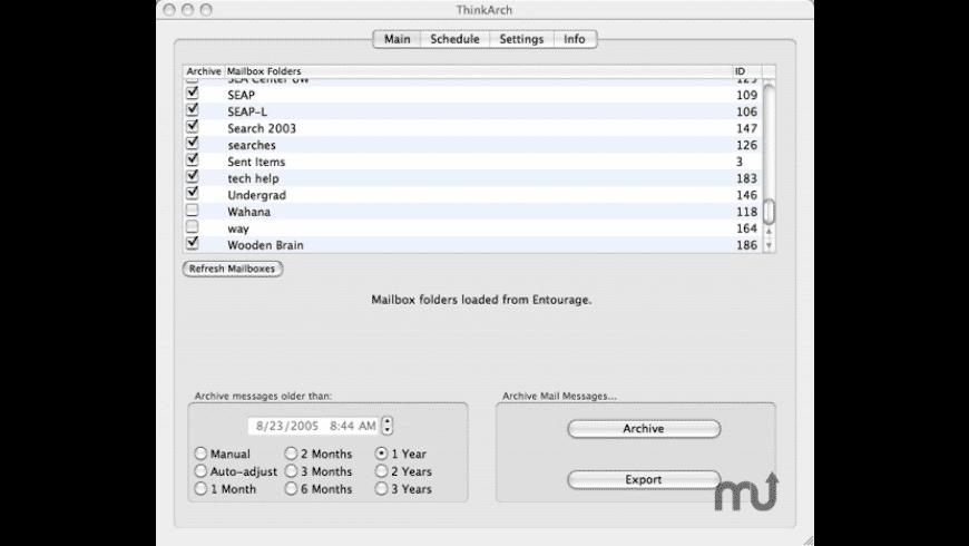 ThinkArch for Mac - review, screenshots