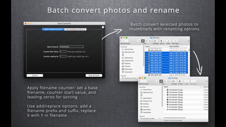 Snap Converter for Mac - review, screenshots