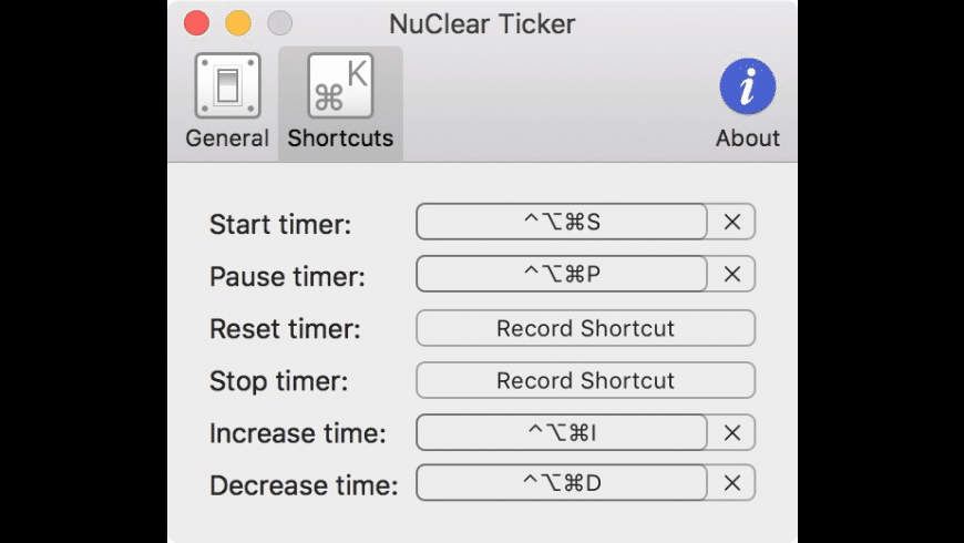NuClear Ticker for Mac - review, screenshots