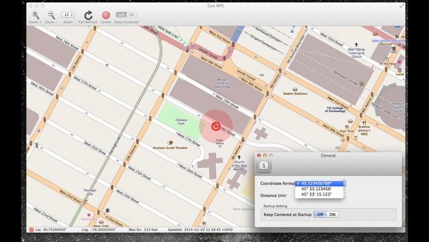 Geo WPS for Mac - review, screenshots