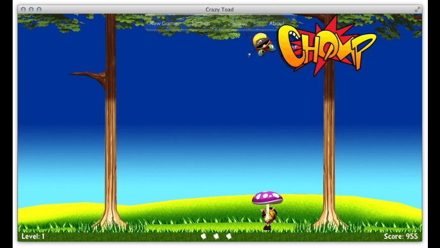 Crazy Toad for Mac - review, screenshots