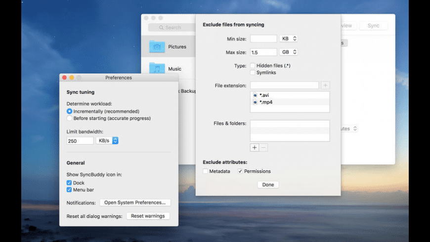 SyncBuddy for Mac - review, screenshots