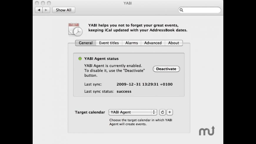 YABI for Mac - review, screenshots