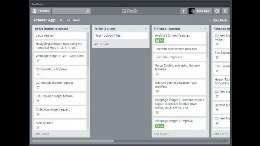 Freeter for Mac - review, screenshots