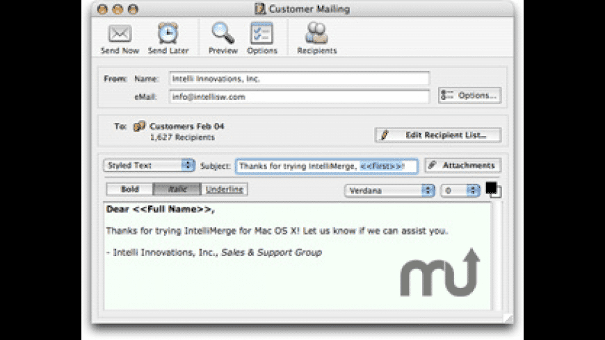 IntelliMerge for Mac - review, screenshots