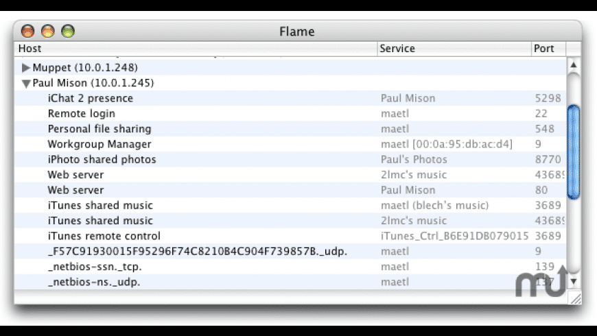 Flame for Mac - review, screenshots