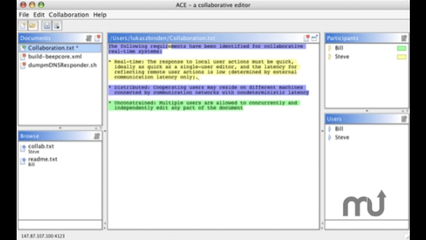ACE for Mac - review, screenshots