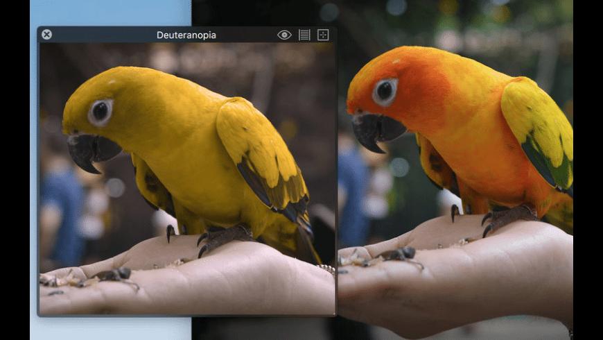 Sim Daltonism for Mac - review, screenshots