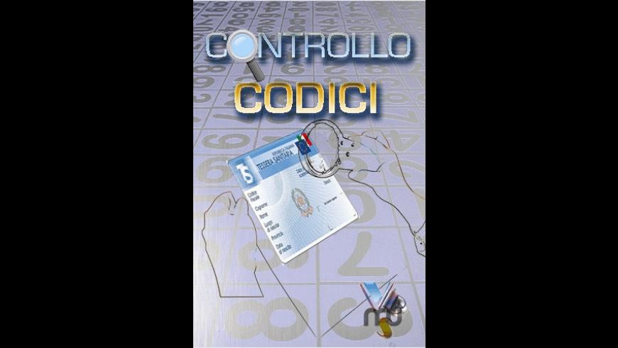 Controllo Codici for Mac - review, screenshots