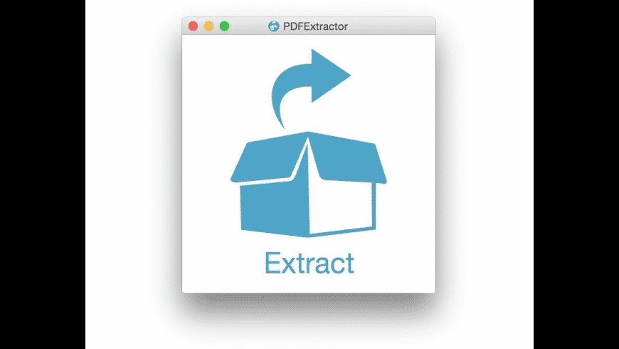 PDFExtractor for Mac - review, screenshots