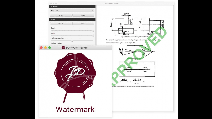 PDFWatermarker for Mac - review, screenshots