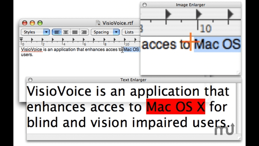 VisioVoice for Mac - review, screenshots