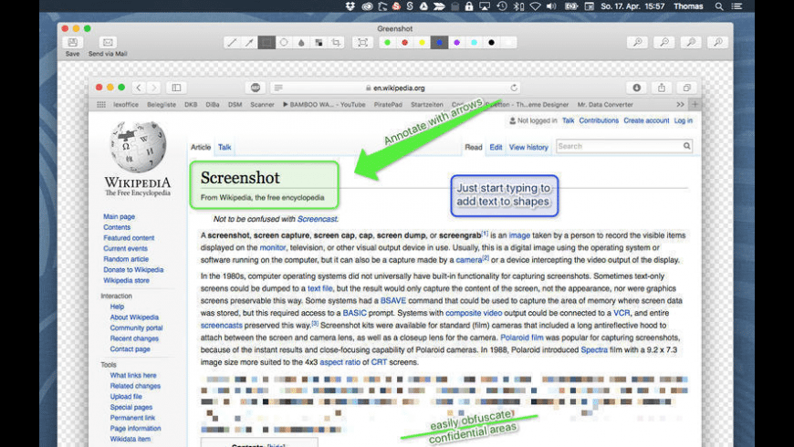 Greenshot for Mac - review, screenshots