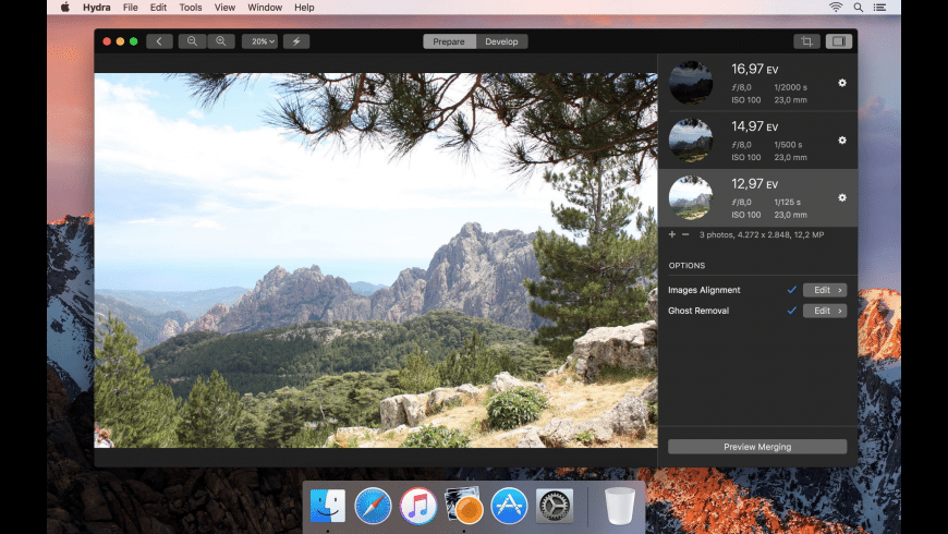 Hydra for Mac - review, screenshots