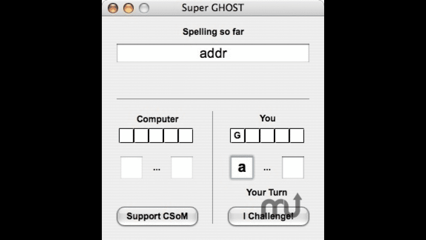 Super GHOST for Mac - review, screenshots