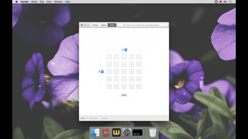 Wordor for Mac - review, screenshots