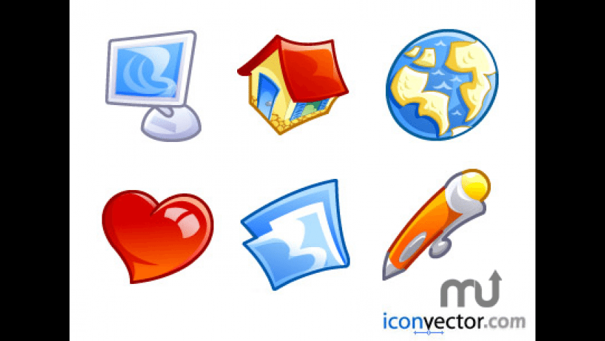 Comic Vector Icons for Mac - review, screenshots