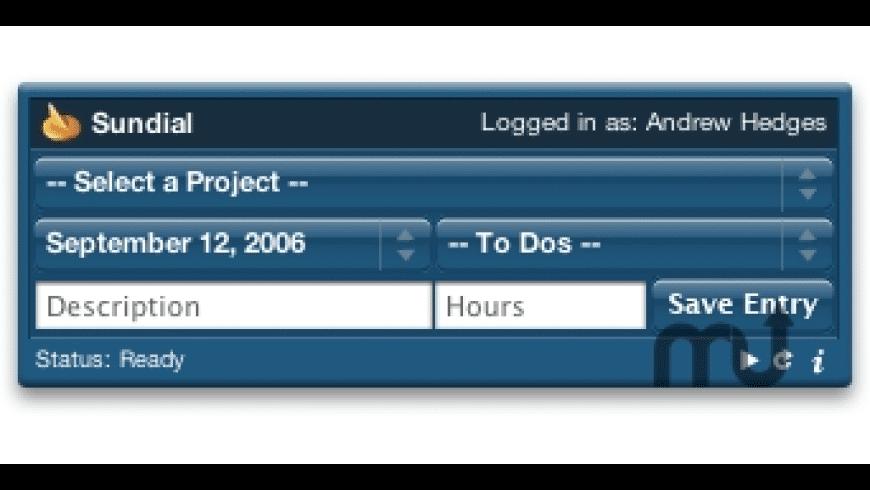 Sundial for Mac - review, screenshots
