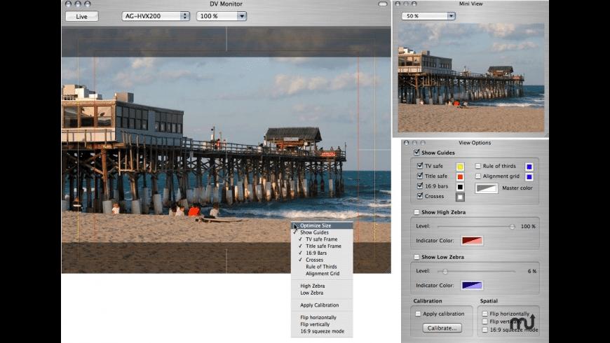 DV Monitor for Mac - review, screenshots