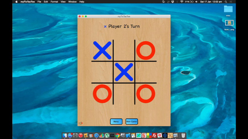 myTicTacToe for Mac - review, screenshots