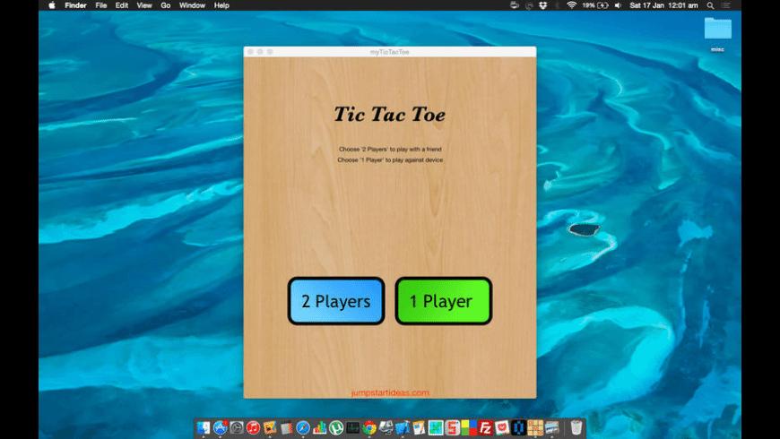 myTicTacToe for Mac - review, screenshots