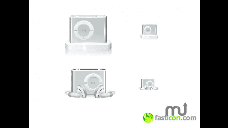 iPod shuffle icons for Mac - review, screenshots