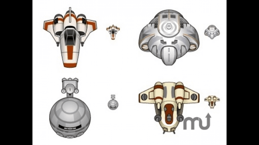 Baby Spaceship Icons for Mac - review, screenshots