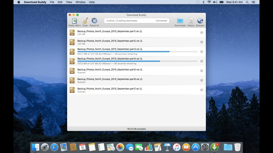 Download Buddy for Mac - review, screenshots