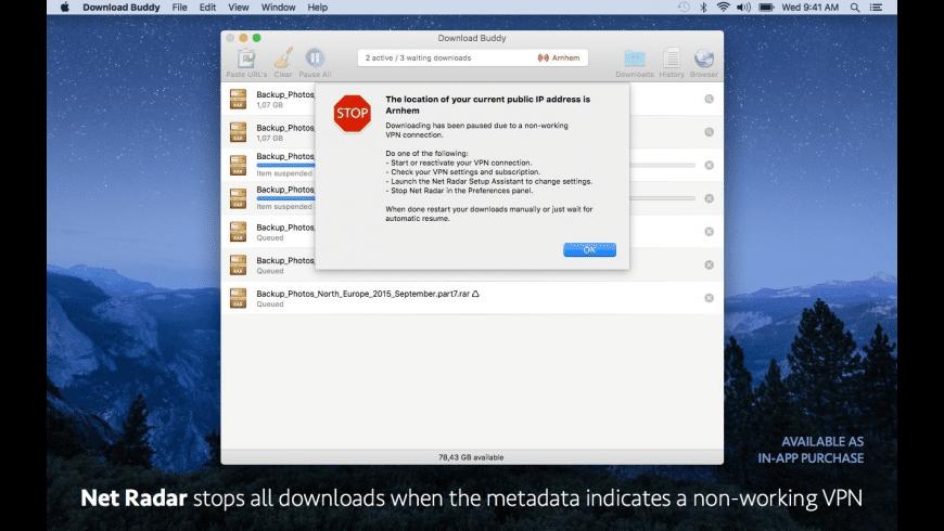 Download Buddy for Mac - review, screenshots