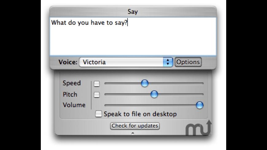 say for Mac - review, screenshots
