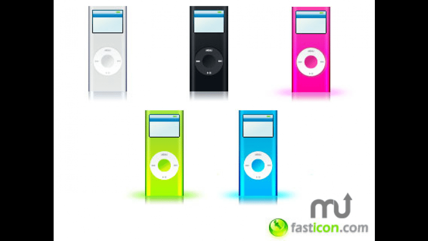 iPod nano Icons for Mac - review, screenshots